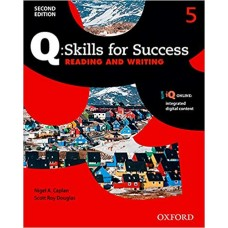 Q:Skills for Success Reading And Writing 5 / Ed. Oxford
