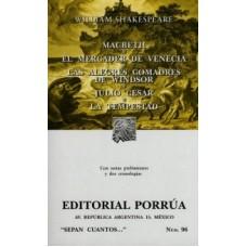 El Mercader de Venecia #96 / Ed. Porrúa