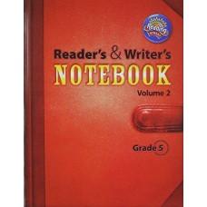 Reader´s & Writer´s Notebook Grade 5 Vol. 5.1 y 5.2 / Ed. Pearson