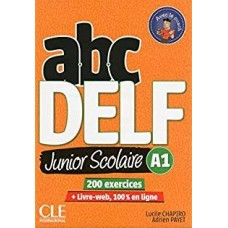 abcDELF A1 Junior Scolarie / Ed. Cle International
