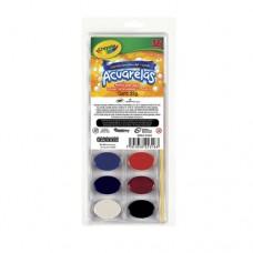 Estuche de acuarelas c/16 colores Crayola