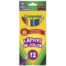 Caja de colores de madera c/12 Crayola
