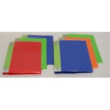 Fólderes plastificado con broche de presión carta