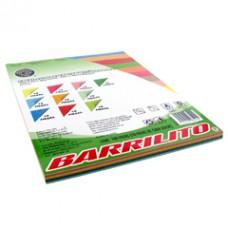Paquete de 100 hojas de colores (10 colores) / Barrilito