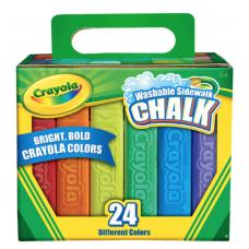 Caja de gises de colores Jumbo c/24