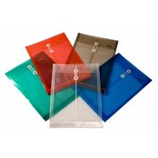 Sobres de plástico tamaño carta